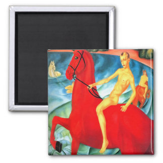 """Magnet: """"Bathing the Red Horse"""" Magnet"""