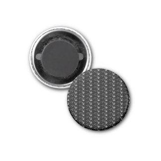 Magnet Black Glitter
