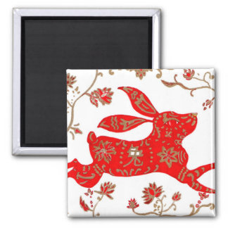 Magnet, Chinese New Year Rabbit Magnet
