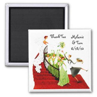 Magnet - Deco Wedding Gift Keepsake Bridesmaids TY