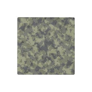 Magnet En Pierre Motif militaire de style de camouflage