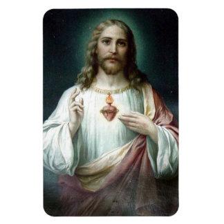 Magnet Flexible Coeur sacré de voiture/de réfrigérateur de Jésus