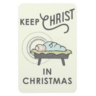 Magnet Flexible Maintenez le Christ dans l'aimant de voiture de