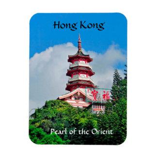 Magnet Flexible Perle de Hong Kong de l'aimant de photo de