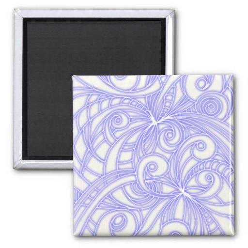 Magnet Floral abstract background