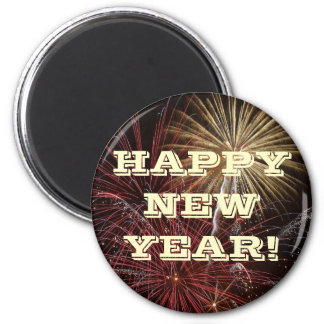 Magnet Happy New Year