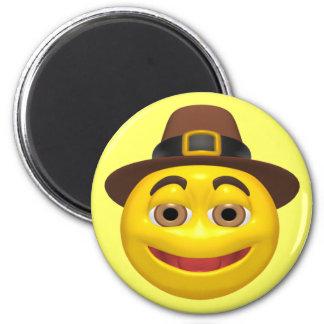 Magnet - Happy Thanksgiving Pilgrim