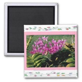 Magnet-Hawaiiian Orchid Magnet