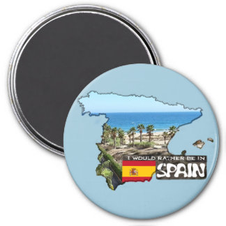 [Magnet] I'd rather be in Spain Magnet