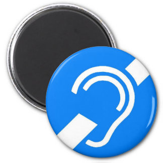 Magnet International Symbol for the Deaf
