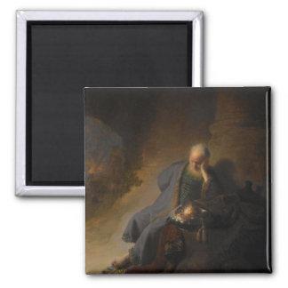 Magnet Jeremiah Jerusalem Rembrandt