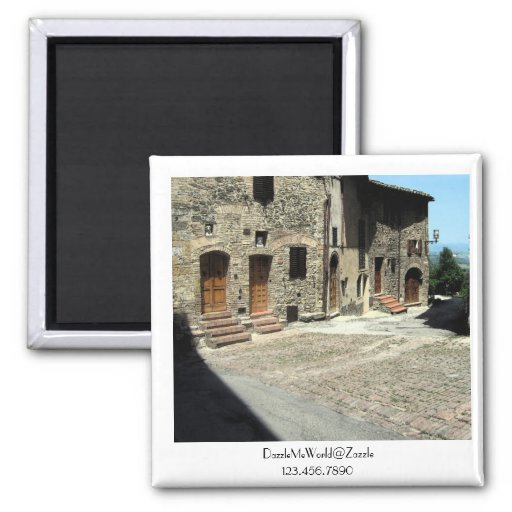 Magnet - Living in San Gimignano