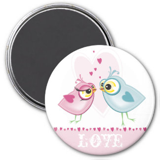 MAGNET :: love birds