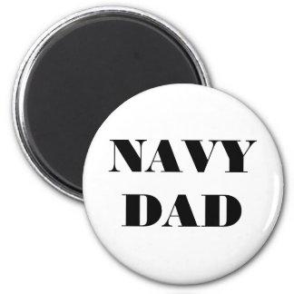 Magnet Navy Dad