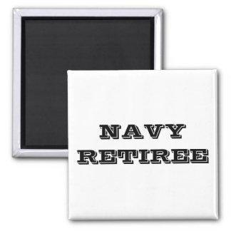 Magnet Navy Retiree