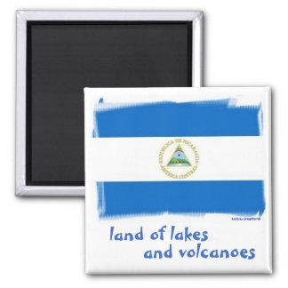 magnet - Nicaraguan flag