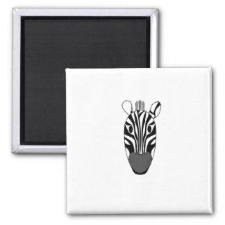 Magnet of a zebra