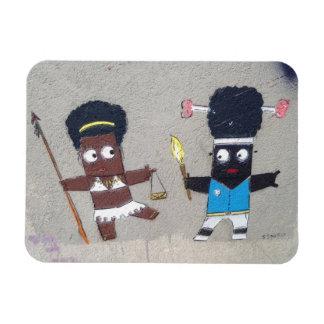 Magnet of original Tel Aviv street art
