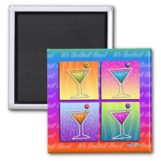 Magnet - Pop Art Martinis