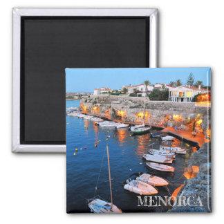 magnet port of Ciutadella in the island of Menorca
