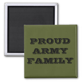 Magnet Proud Army Family