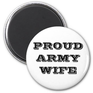 Magnet Proud Army Wife