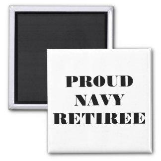 Magnet Proud Navy Retiree