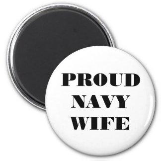 Magnet Proud Navy Wife
