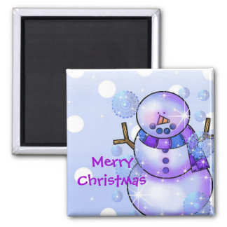 Magnet-Snowman Happy Holidays Christmas Magnet