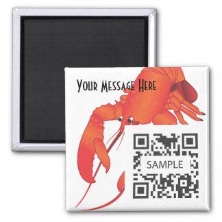 Magnet Template Lobster