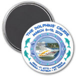 Magnet - The Dolphins' Cruise Refrigerator Magnet