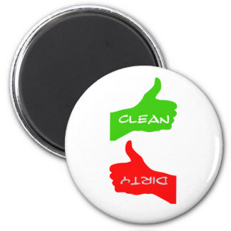 Magnet- Thumbs Up/Down Clean/Dirty Dishes- Color C Magnet
