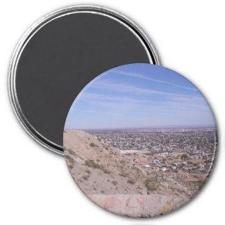 Magnet, view of El Paso Magnet