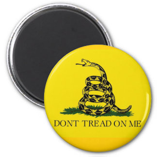 Magnet w/ Gadsden Flag/ Don't Tread On Me