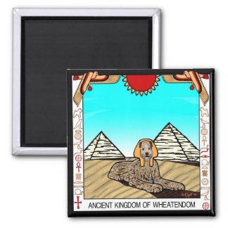 """Magnet: """"Wheaten Sphinx"""" Magnet"""