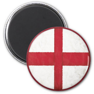 Magnet with English Flag in Dirty Old Style