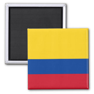 Magnet with Flag of Colombia