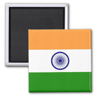 Magnet with Flag of India