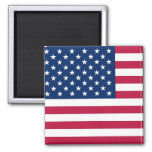 Magnet with Flag of the USA