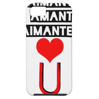 Magnet with loving lovers - Word games Case For The iPhone 5