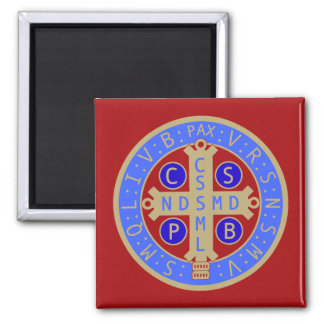 Magnet with Medal of St. Benedict