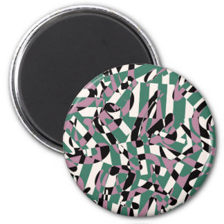 Magnet with Stripes and Lines