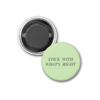 magnet with text