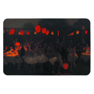 Magnet with Thomas Cooper Gotch Painting