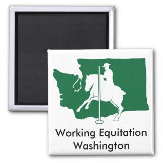 Magnet: Working Equitation Washington Square Magnet