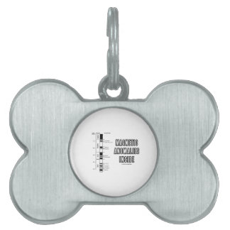Magnetic Anomalies Inside (Geomagnetic Polarity) Pet Name Tag