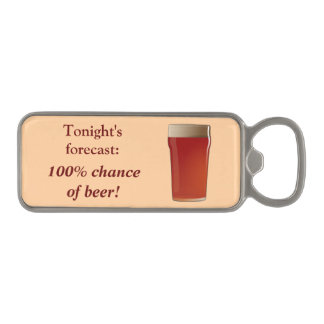 Magnetic bottle opener - beer