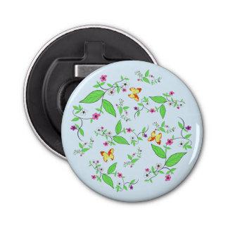 Magnetic Bottle Opener Botannical Custom Button Bottle Opener