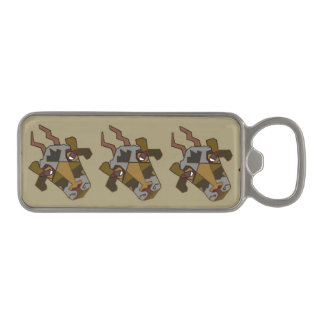 """Magnetic Bottle Opener """"The Cow"""" by Mar"""