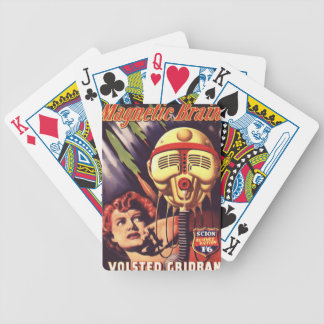 Magnetic Brain Bicycle Playing Cards